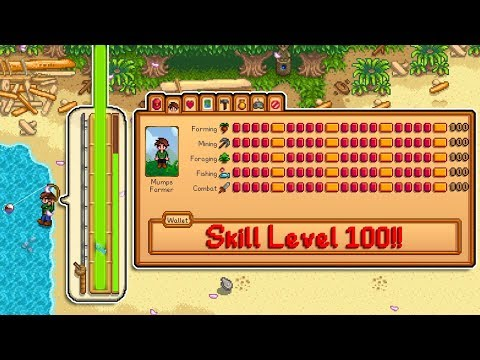 When You Start A New Farm With Level 100 Skills - Stardew Valley