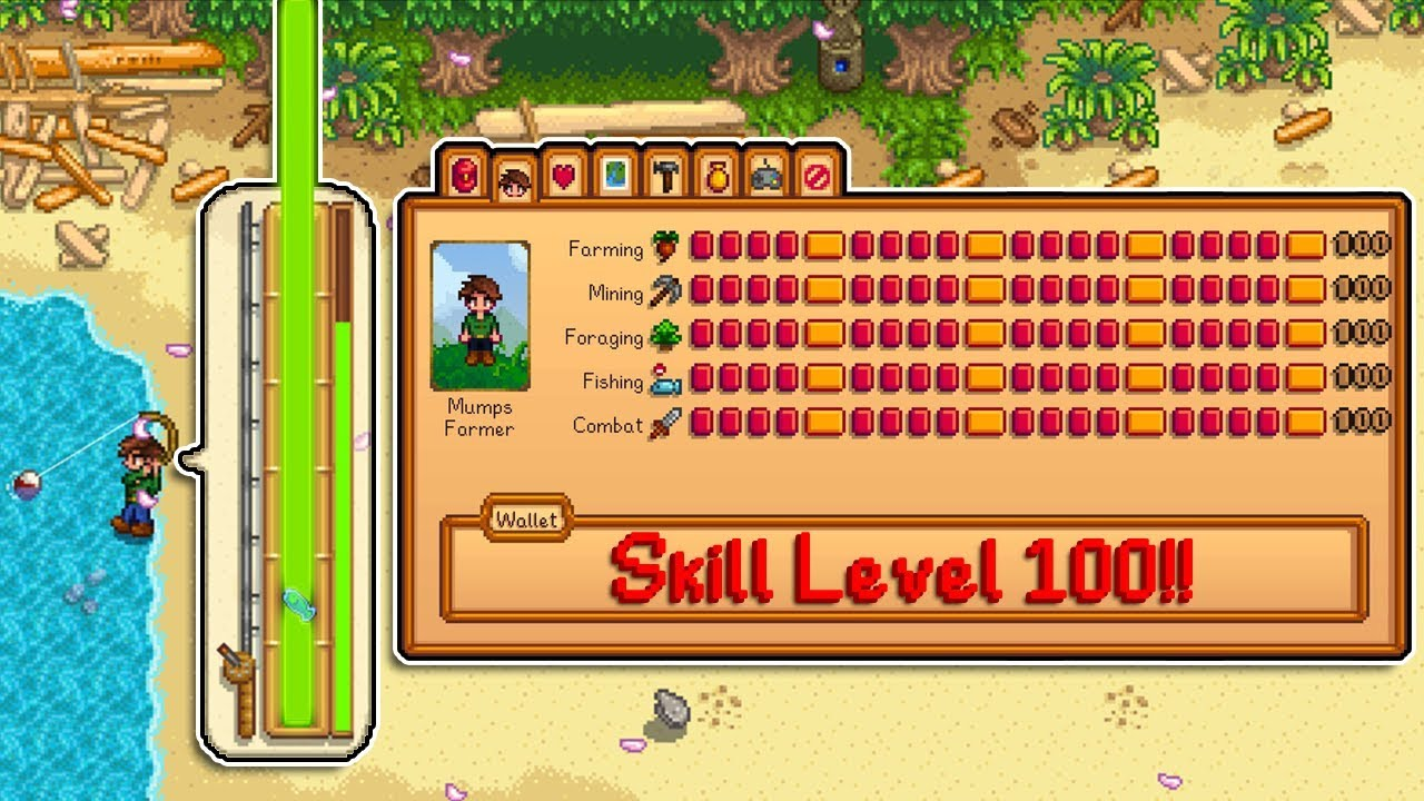 When You Start A New Farm With Level 100 Skills Stardew Valley Youtube
