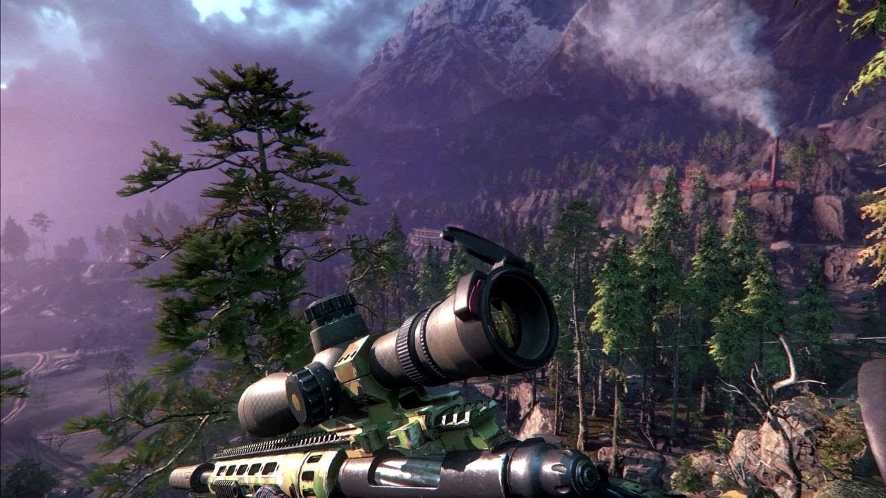 Download Epic Shooting with the Turret M96 .50 Caliber Sniper Rifle ! Sniper Ghost Warrior 3 Game on PC