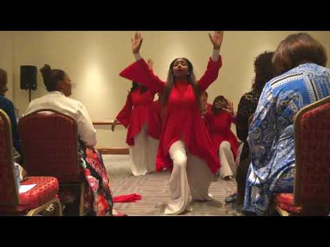 Freshwind Praise Dance Ministry ministering Clean : Natalie Grant