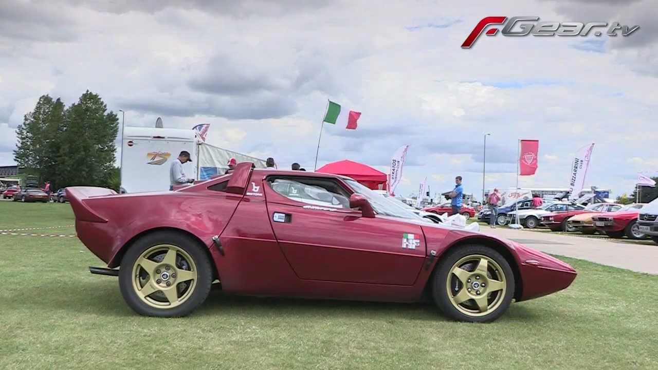 Lancia stratos replica youtube for Replica design