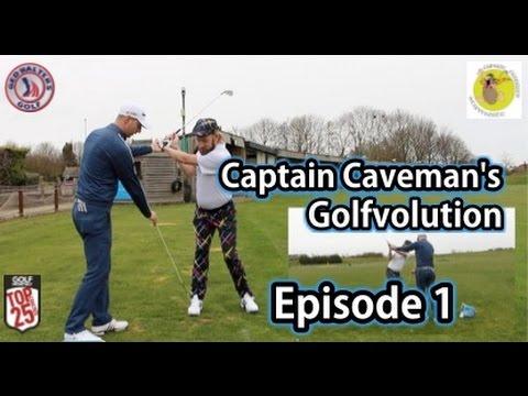 Captain Caveman's Golfvolution   Episode 1