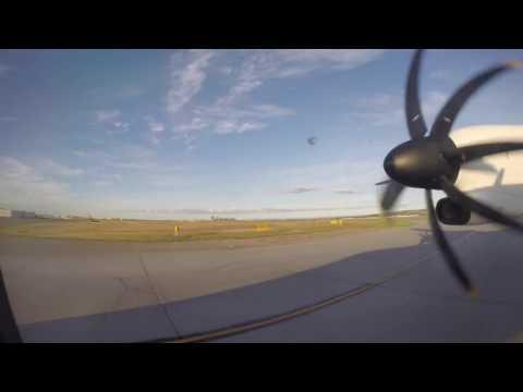 ** FLIGHT REPORT** Westjet Encore Q400 YYC-YEGᴴᴰ
