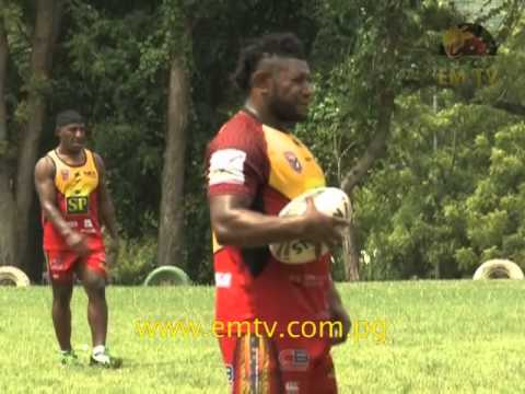 PNG Rugby Football League Announces Team for Pacific Games