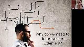 How to Improve Judgement