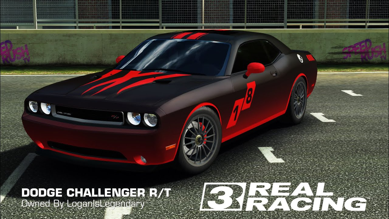 real racing 3 tuning dodge challenger r t test drive youtube