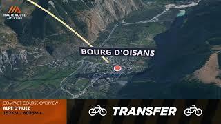 Haute Route Alpe D'Huez 2019 Compact Course Overview
