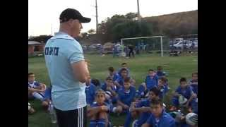 מחנה קיץ לכדורגל 2011 בניהולם של גילי לנדאו ושי זבלוצקי