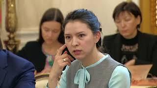 Встреча сфиналистами Всероссийского конкурса управленцев «Лидеры России»