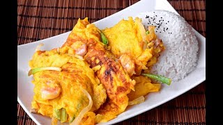 Egg Foo Young, Cantonese style - How to Make the Original Fuyong Dan (芙蓉蛋)