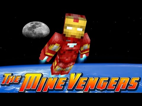 Minecraft MineVengers - SPACE BASE!!
