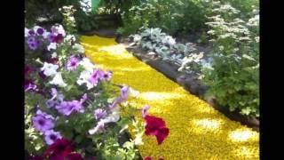 Цветной щебень в томске(Цветной декоративный щебень для ландшафтного и интерьерного дизайна, широко используется для оформления..., 2014-06-02T18:12:50.000Z)