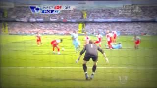 crazy arabic commentator reaction to sergio aguero s goal vs qpr 13 05 2012 hd