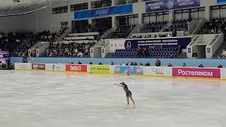 Алена Косторная Короткая программа 4 этап кубка России по фигурному катанию 2020 2021 г Казань