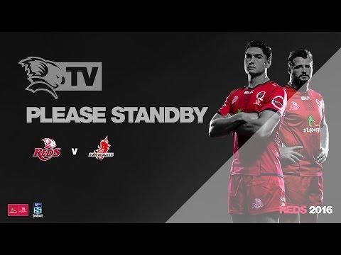 St.George Queensland Reds v Sunwolves Post Match Media Conference