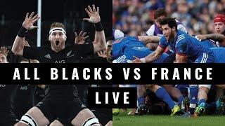 LIVE: All Blacks vs France - 3rd Test