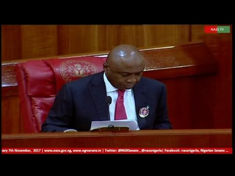 Senate Plenary,7th November, 2017