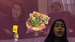 Gambar cover LIVE VLOG OF ME BEING HIGH LOL *some of my best material*