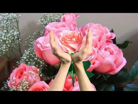 Красивые букеты, розы.