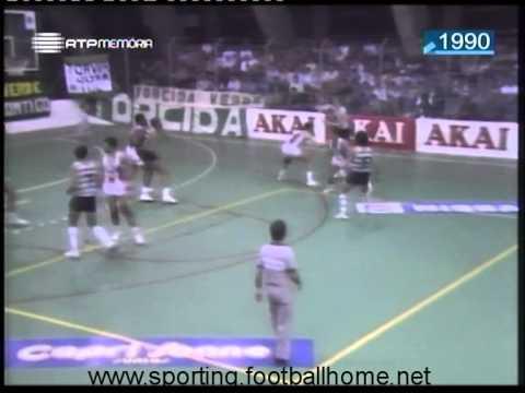 Basquetebol :: Sporting - 77 x Barreirense - 76 de 1989/1990