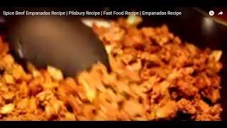 Spice Beef Empanadas Recipe | Pilsbury Recipe | Fast Food Recipe | Empanadas Recipe