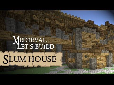 Let 39 s build poor medieval house minecraft youtube House build
