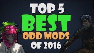 Top 5 BEST Skyrim Odd Mods of 2016!