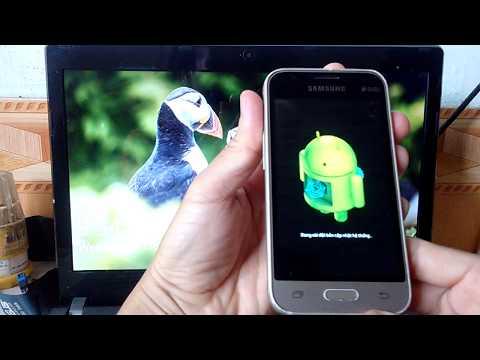 Hard Reset điện thoại Samsung Galaxy J1 Mini