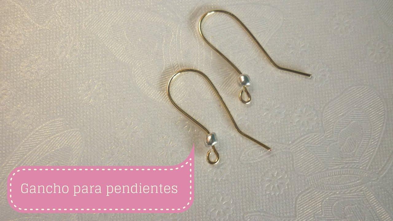 Manualidades como hacer gancho para pendientes o aretes for Gancho perchero pared