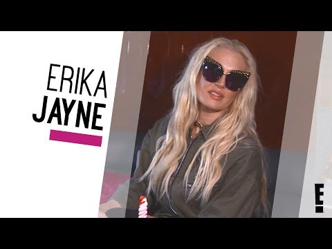 Erika Jayne FULL Interview | DIGITAL EXCLUSIVE | The Hype | E!