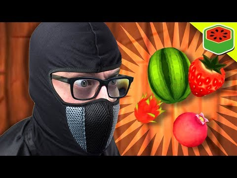 I MUST FREE MY PEOPLE!   Fruit Ninja