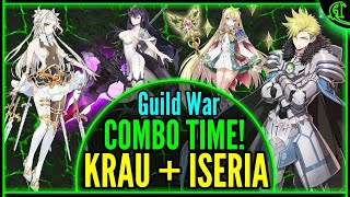 Krau + Iseria Combo (Slow & Steady!) Guild War Epic Seven PVP Epic 7 Gameplay Epic7 E7 [GW #30]