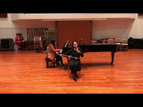 《第一二胡狂想曲》Erhu Rhapsody No.1 王建民曲, 二胡獨奏: 黃曉晴, 鋼琴: 裘妍慧 Erhu Solo by Wong Hiu Ching, Eva