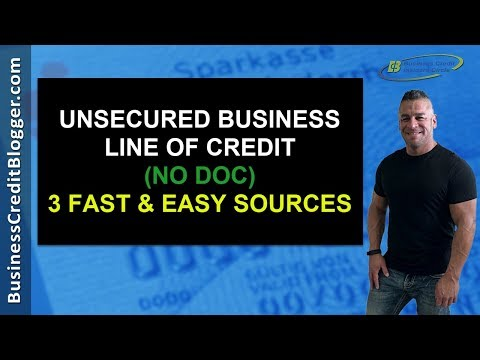 Unsecured Business Line Of Credit No Doc - Business Credit 2019