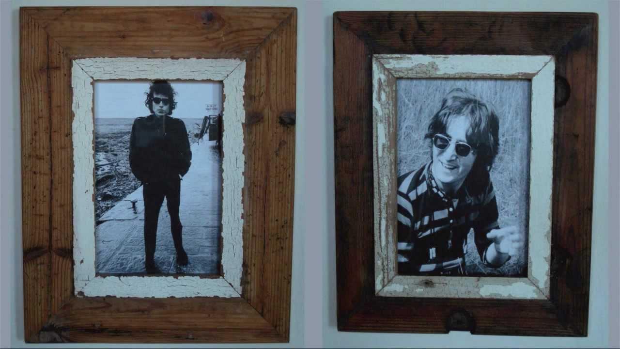Rustic Frames | Buy Rustic Wood Picture Frames Online | InTandem ...