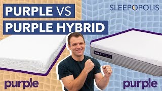 Original Purple vs Purple Hybrid (2019 Update) - Which One is the Bed for You?