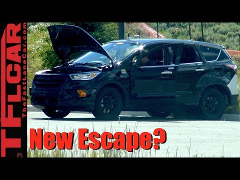 2018 Ford Escape Prototype Spied in the Wild