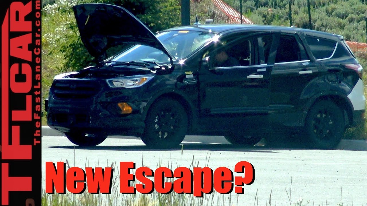2019 ford escape prototype spied in the wild youtube. Black Bedroom Furniture Sets. Home Design Ideas