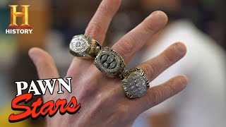 FOOTBALL FINDS & TOUCHDOWN DEALS (12 Super Rare Pieces of NFL Memorabilia)  | Pawn Stars | History