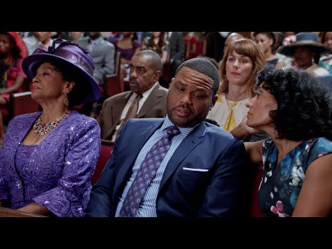 Dre & Bow Struggle with a Long Church Service - black-ish