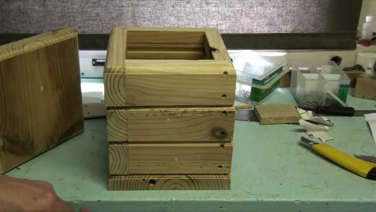 "Building an ""Aussie INPA"" box for Australian Native Bees - YouTube"