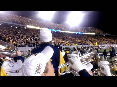 WVU Touchdown vs. Texas and Seven Nation Army