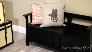 Parker Storage Bench - Black - Product Review Video