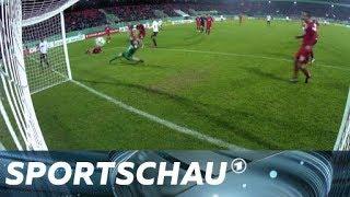 DFB-Pokal: Heidenheim gegen Frankfurt - die Zusammenfassung | Sportschau