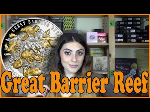 🐠 GREAT BARRIER REEF 🐠 - REVIEW - Australias Natural Wonder - 5 Oz Silver Coin - Niue 2018