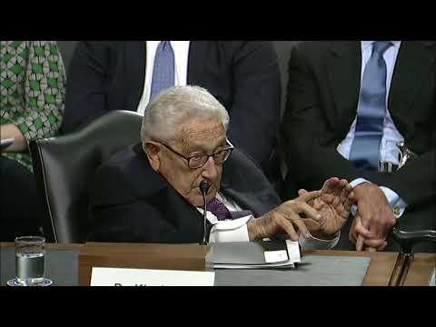 SASC: Sen. Sullivan Questions Former Secretary of State Henry Kissinger on North Korea