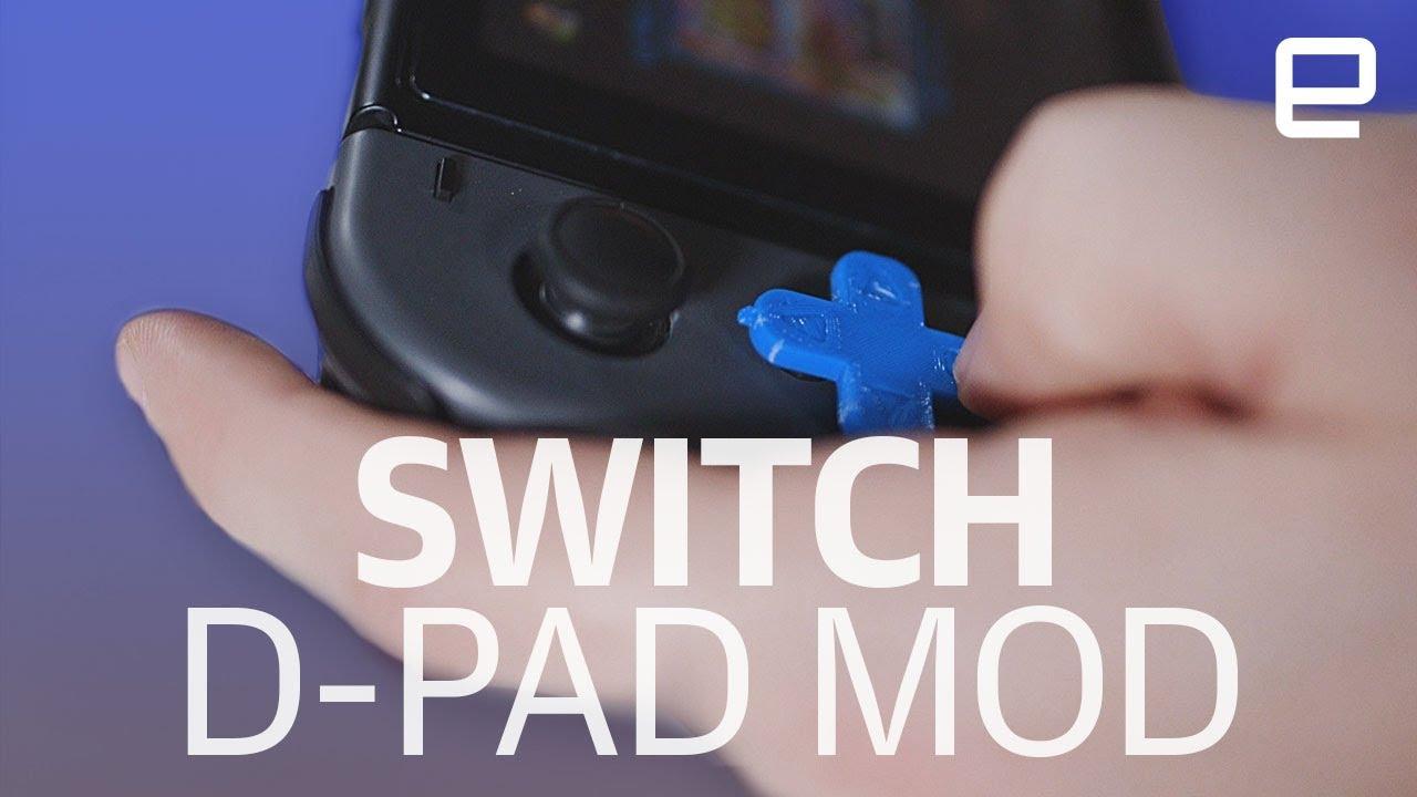 3D Printed Nintendo Switch D Pad Mod
