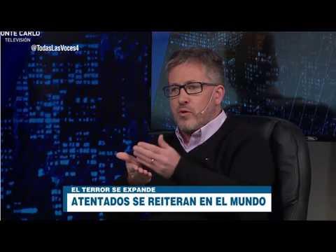 """Gabriel Ben-Tasgal en """"Todas las voces"""" (Montecarlo TV Uruguay)"""