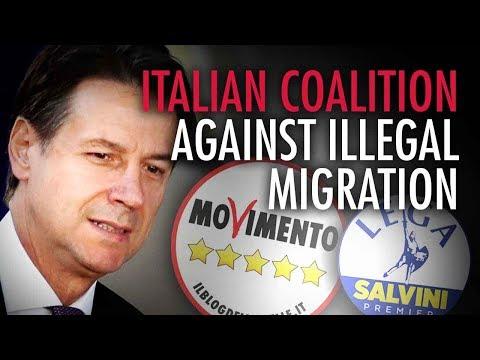 Italian coalition government united on securing borders   Alessandra Bocchi