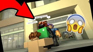 ROBLOX [] Hilton Hotel Trolling [] RACIST SECURITY!
